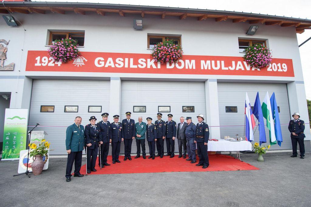 Na Muljavi uradno odprtje najsodobnejšega gasilskega kompleksa v naši občini
