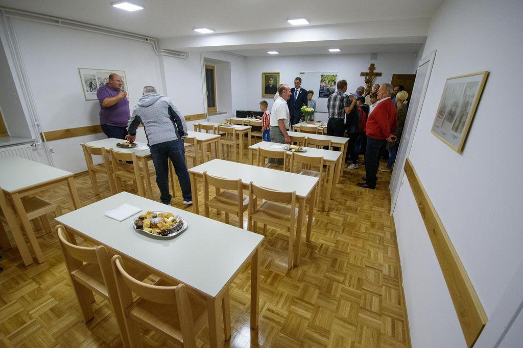 Blagoslov prenovljenih prostorov župnijskega doma Višnja Gora