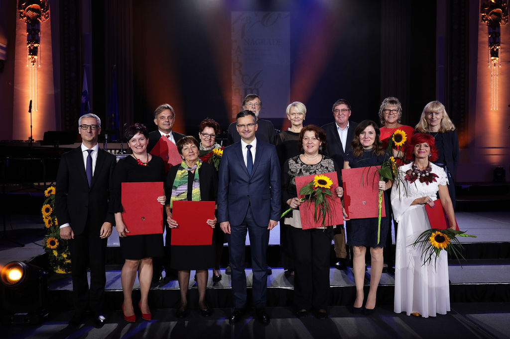 Branka Kovaček, prejemnica nagrade za izjemne dosežke na področju predšolske vzgoje