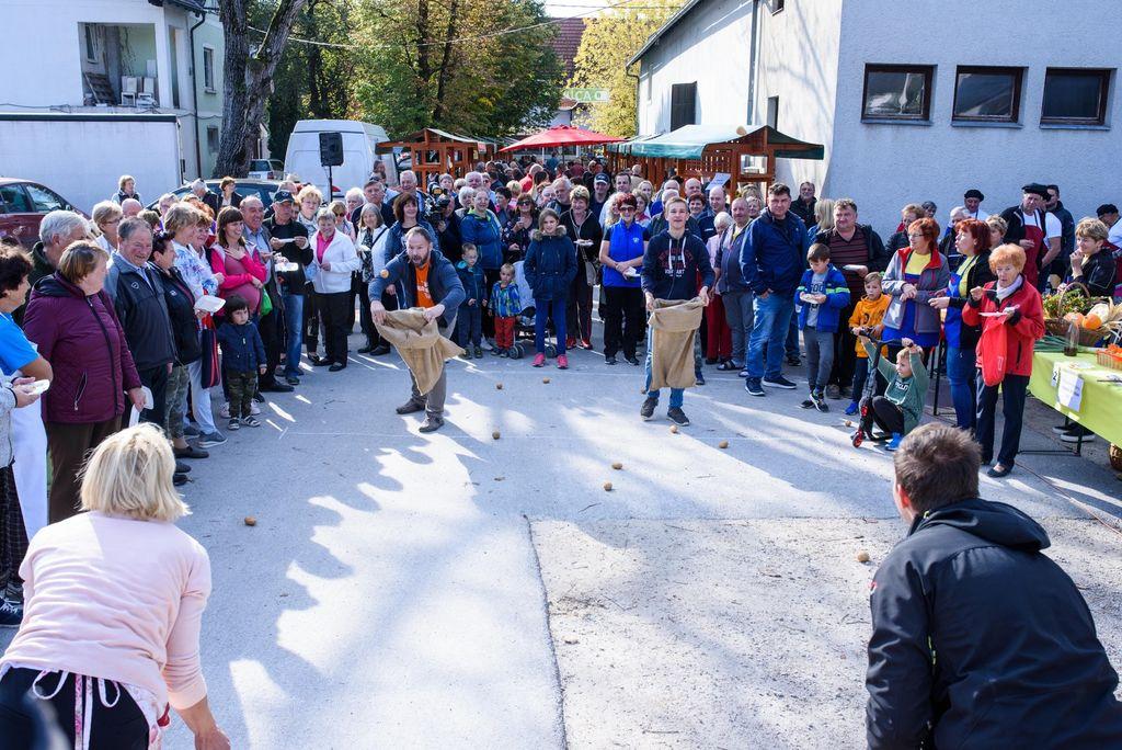 Praznik krompirja v Ivančni Gorici zopet navdušil