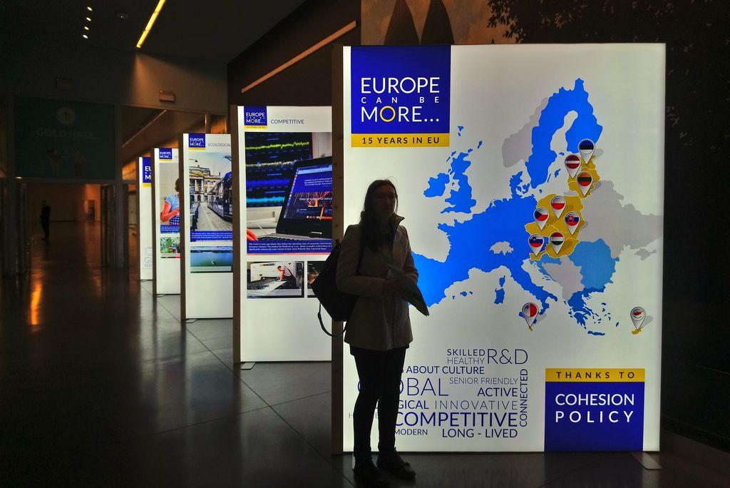 Občina Ivančna Gorica prisotna na Evropskem tednu regij in mest v Bruslju