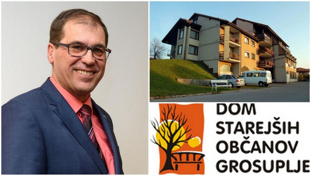 Županovo sporočilo varovancem DSO Grosuplje