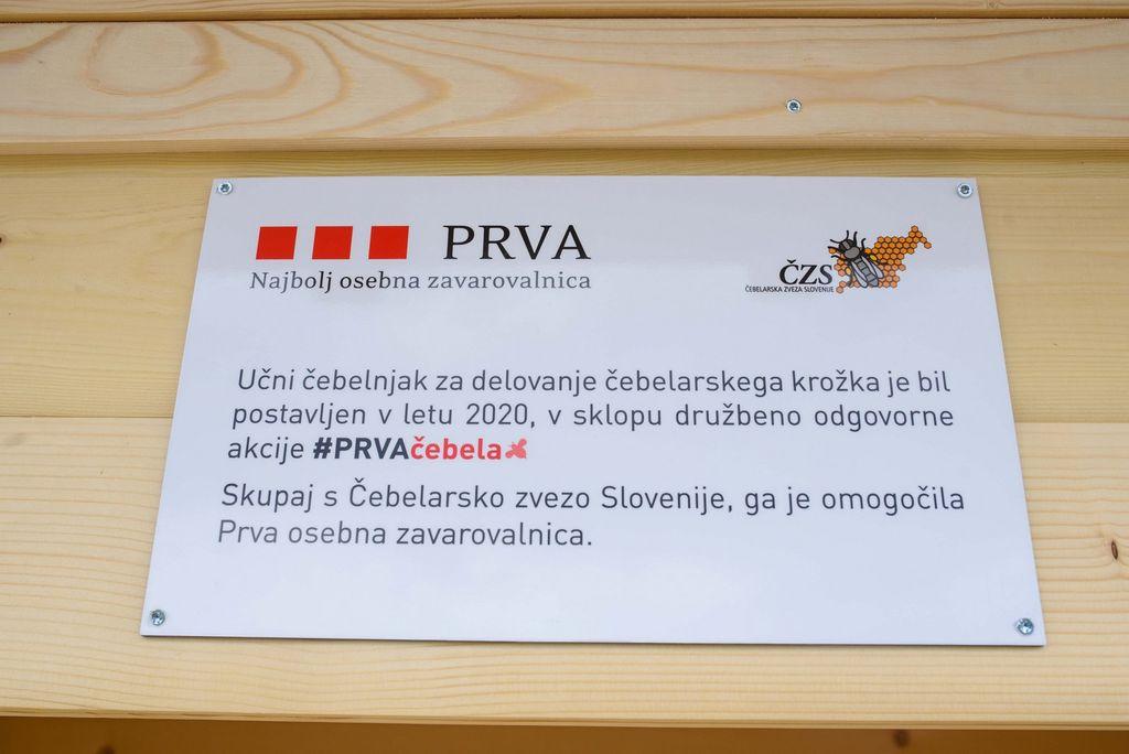 Nov učni čebelnjak za mlade čebelarje v Ivančni Gorici