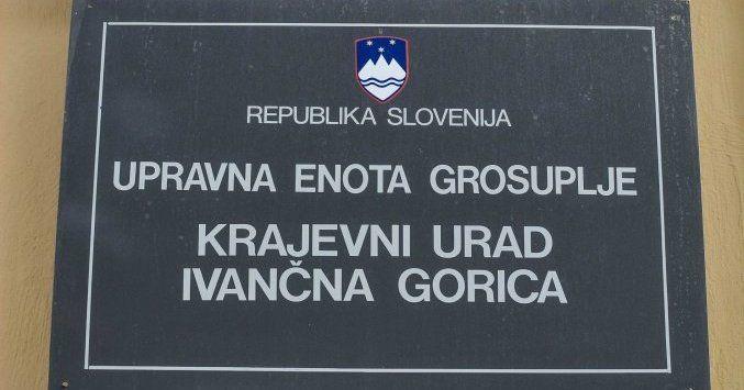 Obvestilo o delovanju Krajevnega urada Ivančna Gorica