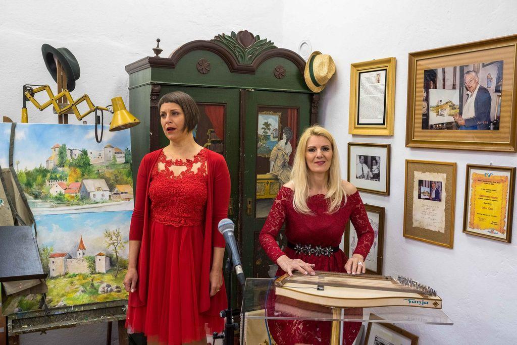 Odprtje spominske sobe zbiratelja in umetnika Antona Draba v Šentvidu pri Stični