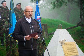 Na Pristavi obeležili 27. obletnico postavitve obrambno varnostnega sistema za zaščito Slovenije