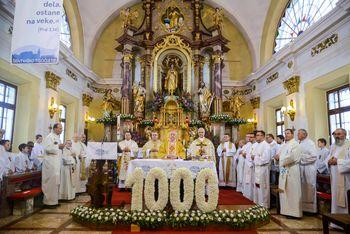 VIDEO: Iz praznovanja 1000 letnice župnije Šentvid pri Stični