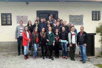 Šentviška šola gostila učence iz pobratene občine Hirschaid