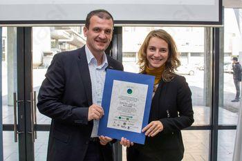 Občini Ivančna Gorica priznanje Planetu Zemlja prijazna občina