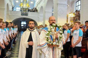 Novomašnik p. Jona Vene stopil na duhovniško pot