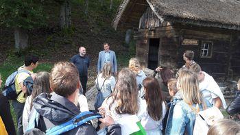 Učenci iz občine Markt-Hirschaid na izmenjavi v šentviški šoli