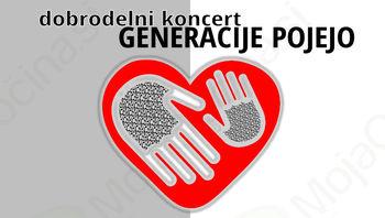 Vabljeni na dobrodelni koncert Generacije pojejo