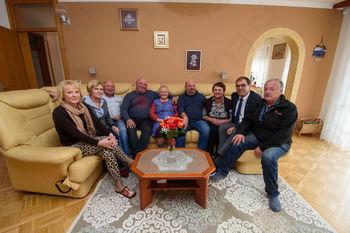 90 let Marije Kavšek iz Temenice