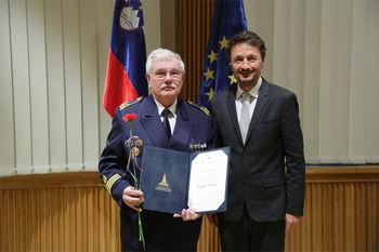 Rajko Bivic, prejemnik plakete Državnega sveta RS