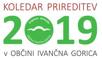 Knjižica »Koledar prireditev v Občini Ivančna Gorica 2019« v novi podobi