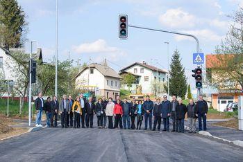 Ivančna Gorica z Ljubljansko cesto dobiva sodobno vpadnico