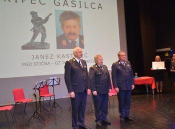 Član PGD Stična prejemnik visokega gasilskega priznanja