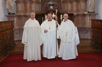 Pater Maksimiljan File novi stiški opat