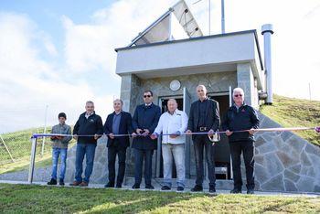 Slovesna otvoritev vodovodnega sistema na Leskovški planoti