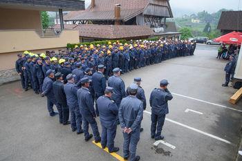 Več kot 600 gasilcev preverilo svoja znanja na gasilskem tekmovanju v Zagradcu