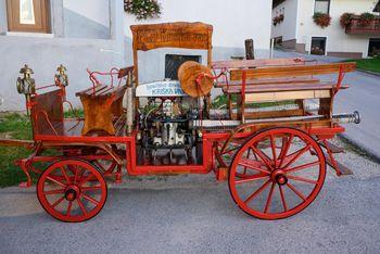 Gasilci PGD Kriška vas obnovili vprežni voz iz leta 1928