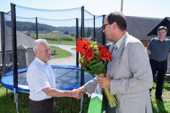 90 let Ignacija Medveda iz Vira pri Stični