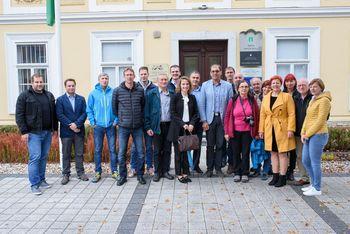 Ivančno Gorico obiskali predstavniki občine Vuzenice