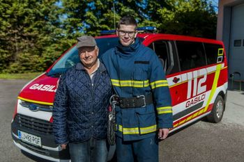 Glasujmo za GASILCA JUNAKA Primoža Kastelica, ki je dedku rešil življenje