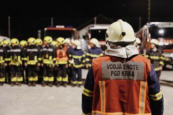 Ob mesecu požarne varnosti gasilci preizkušajo svoja znanja in opremo