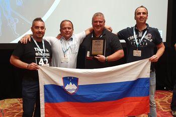 Anton Posavec v Las Vegasu prejel veliko mednarodno priznanje
