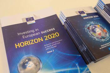 Srečanje s predstavniki nacionalne točke Horzion2020