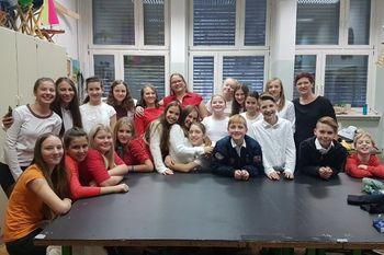 Mladinski zbor šentviške šole nastopil na odru Cankarjevega doma