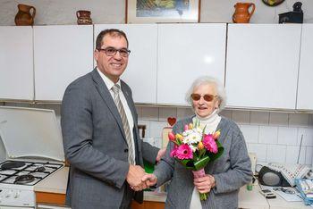 90 let Kristine Petrovčič iz Višnje Gore