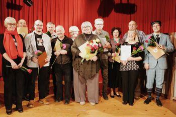 Gledališka skupina Krka prejemnica Linhartovih značk in priznanj na področju ljubiteljskega gledališča
