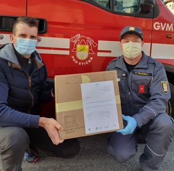 Občina Ivančna Gorica pomagala Občini Šmarje pri Jelšah