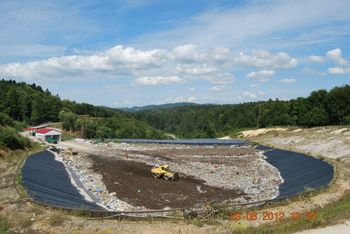Obvestilo JKP Grosuplje o ponovnem odprtju Zbirnega centra za odpadke Špaja dolina