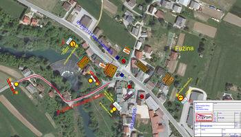 Obvestilo komunale Grosuplje: Popolna zapora ceste na relaciji Fužina - Malo Globoko