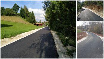 Nova in varnejša cestna povezava med Višnjo Goro in Poljem pri Višnji Gori