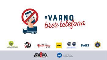 Nacionalni akciji »VARNO BREZ TELEFONA« se pridružujemo tudi v Občini Ivančna Gorica