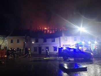 Odprt TRR za pomoč družinam ob požaru v Mestnem jedru Višnja Gora