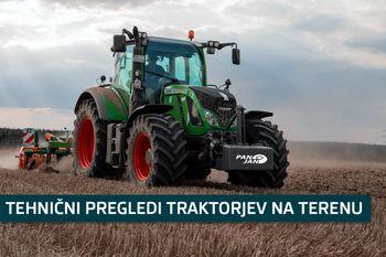 Tehnični pregledi traktorjev na terenu 2021