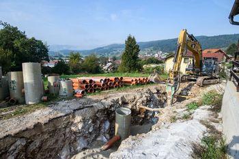 Obvestilo o pripravah na gradnjo kanalizacije Stična 6. faza