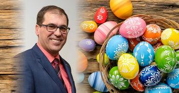 Velikonočno voščilo župana Dušana Strnada