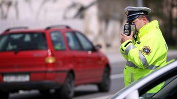 Policisti bodo meritve hitrosti izvajali tudi v naši občini