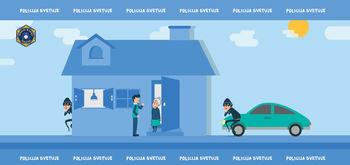 Policisti opozarjajo na drzne tatvine v vaših domovih