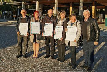 Turistična zveza Slovenije nagradila turistične delavce iz naše občine