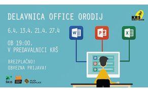 Delavnice Microsoft Office orodij