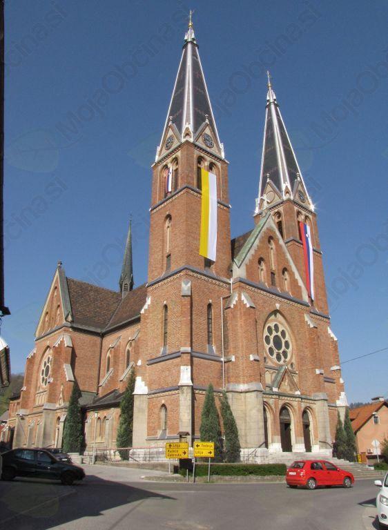 Župnijska cerkev v Šmartnem