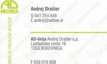 AD-LINIJA ANDREJ DRAŠLER S.P. STORITVE IN TEHNIČNO SVETOVANJE