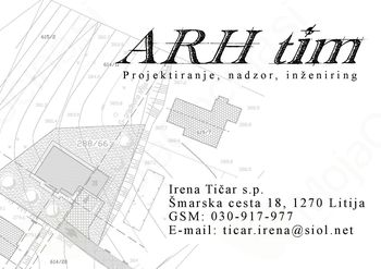 ARH TIM, projektiranje, nadzor, inženiring, Irena Tičar S.P.